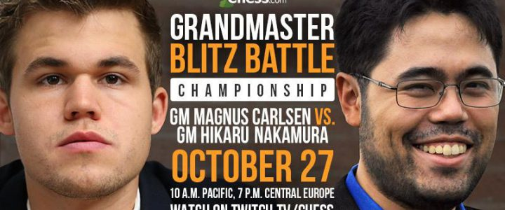 Chess.com Grandmaster Blitz Battle finale
