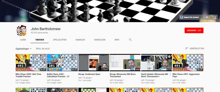 YouTube-streamer til Stjernen