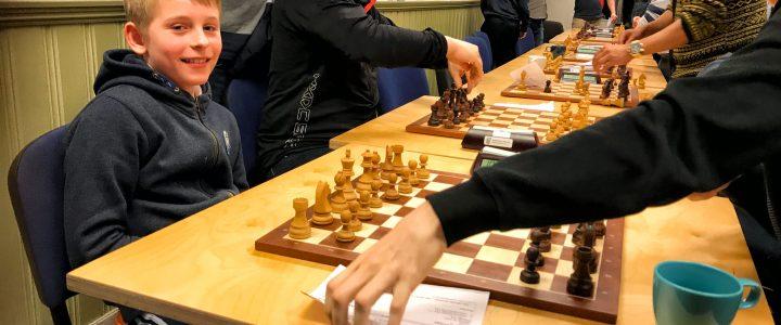 Kaloyan vant, men Axel (11) imponerte