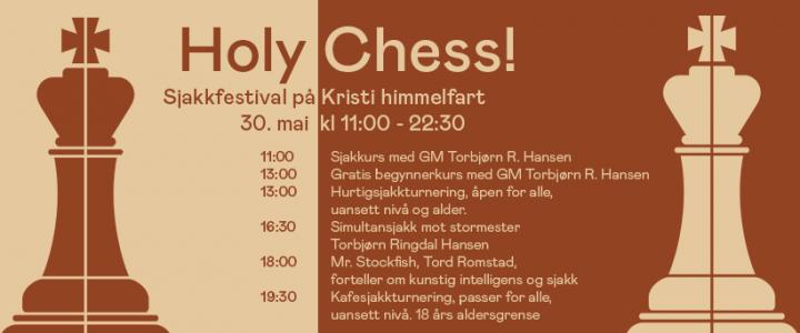 Himmelfartstengt, men Sjakkfestival på The Good Knight